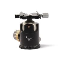 Adattatore per montaggio su staffa per fotocamera monopiede con treppiede a sfera Q5 più adatto morsetto a sgancio rapido compatibile arca-swiss diametro sfera 44mm