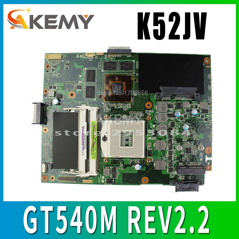 Original for ASUS K52 K52JV Motherboard online buy DDR3 8 memory fully tested free shipping image