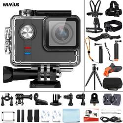WIMIUS Action Sports Camera Ambarella A12 Ultra HD 4K WIFI Action Video Cam 60m Underwater Waterproof Helmet go Sport pro Camera