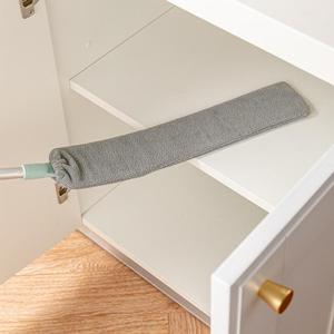 Прикроватная щетка для пыли, швабра с длинной ручкой, предметы для уборки дома, щетка для чистки меховой шерсти, подметания дивана, кровати, мебели