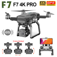 Nuovo Drone SJRC F7 PRO 4K Camera con 3 assi Gimbal 5G Wifi GPS 3000M distanza Quadcopter professionale Brushless RC Dron TF card