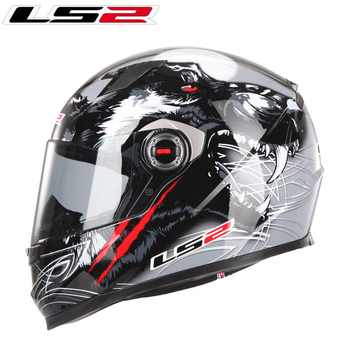 LS2 FF358  Full Face Motorcycle Helmet capacetes para moto Racing Motorcross helmet capacete ls2 helmet Jet ECE Casco Moto - DISCOUNT ITEM  0% OFF All Category