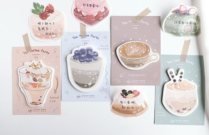Sweet Food Sticky Note Memo Pad(1pack)
