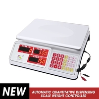 10kg/1g 30kg/5g Precision Automatic Quantitative Dispensing Scale Kitchen Scale Weight Controller Weighing Type Filler Digital