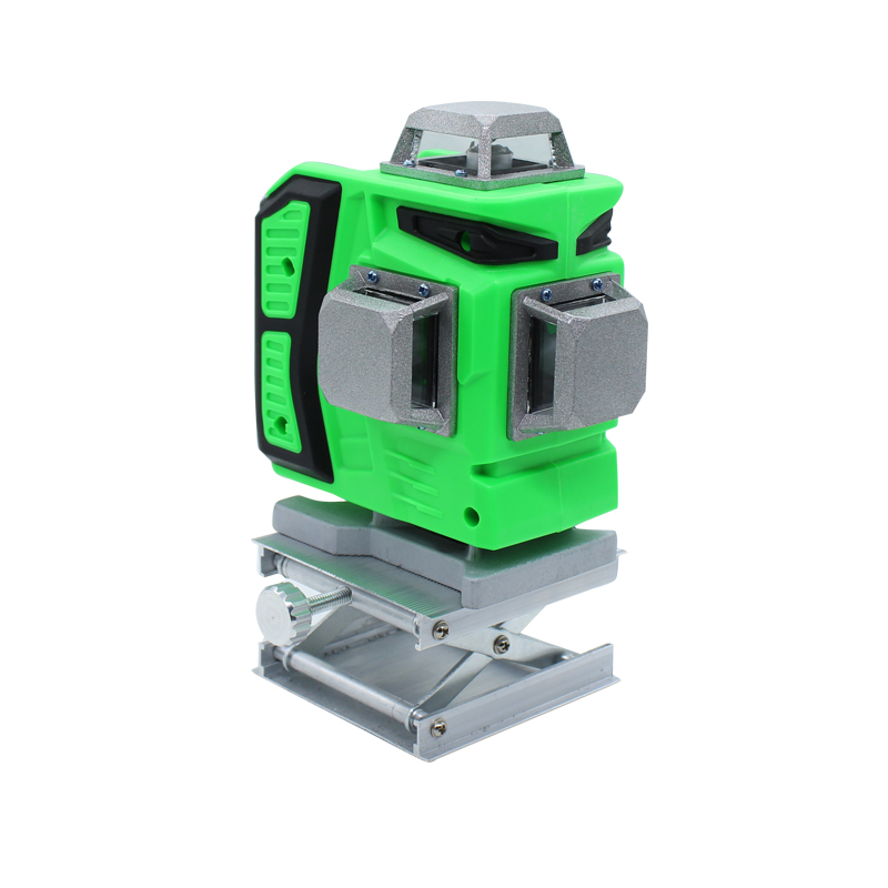 Tools : BIGGRIT A 16 Green Lines 4D Laser Level Horizontal And Vertical Cross Lines With Auto Self-Leveling Indoors and Outdoors