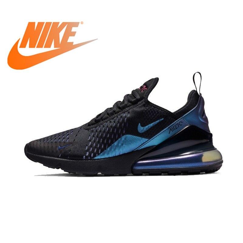 Original athlétique Nike Air Max 270 hommes chaussures de course baskets Sports de plein Air à lacets Jogging marche concepteur 2019 nouveau AH8050