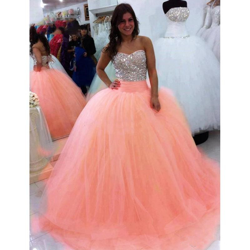 Luxury Quinceanera Dresses 2020 Ball Gown Puffy Tulle Prom dresses Debutante Sweet 16 Dress vestidos de 15 anos