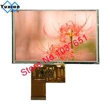 Yuxian 5 אינץ TFT 800*480 40pin צבע תצוגת lcd עם מגע פנל ILI5960 + ILI6122 40pin LT050C 01A חדש ומקורי