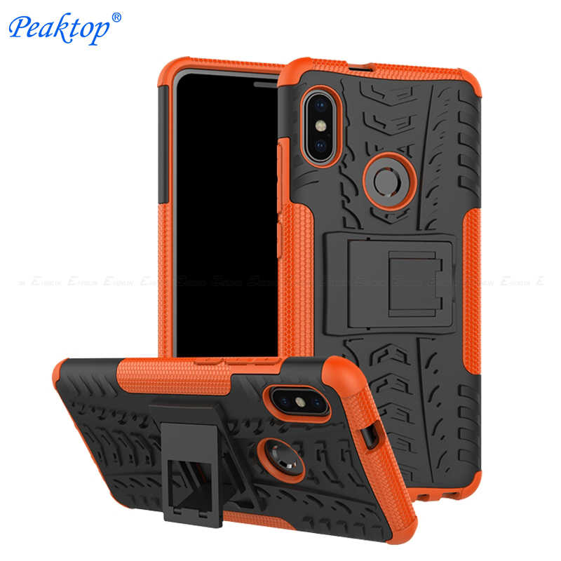 Armor Tpu Pc Hard Plastik Pelindung Cover Case untuk Xiaomi Redmi Note 5 6 7 Pro Ai 4X4 global 5A Prime 5 Plus S2 Y2 Y1 4A