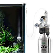 цена на Stainless Steel Aquarium Co2 Regulator For Co2 Aluminum Cylinder G5/8 Interface 12V Output Voltage Co2 Pressure  Bubbl Diffus