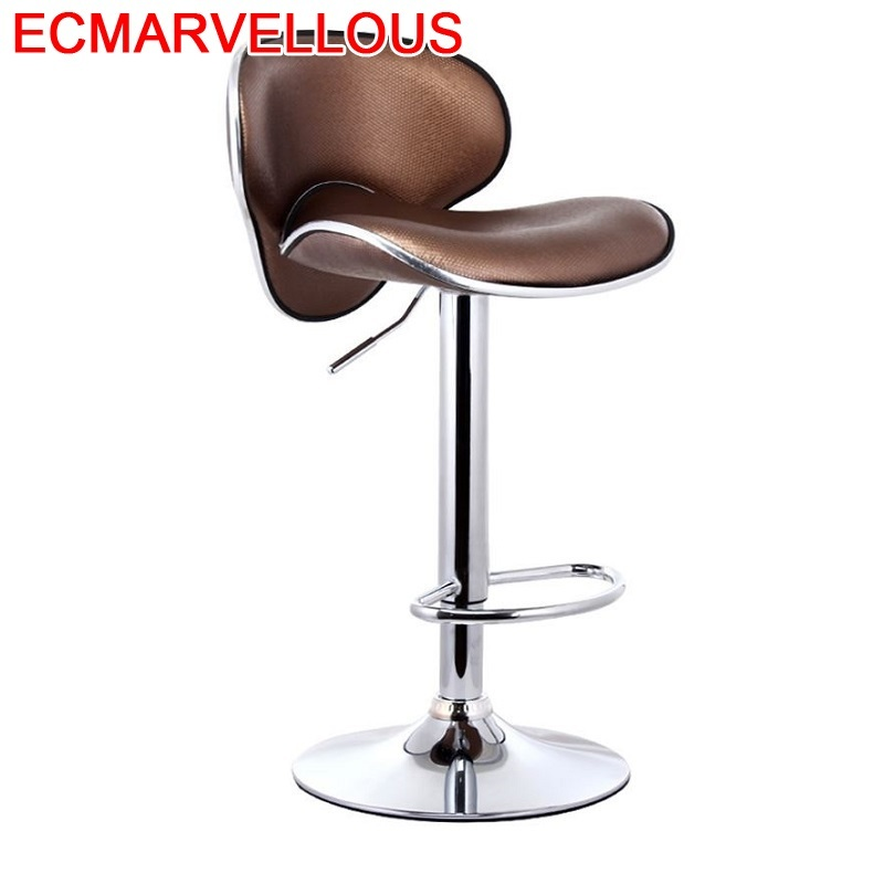 Table Barstool Para Barra Banqueta Stoelen Tabouret De Comptoir Sedia Kruk Ikayaa Leather Silla Cadeira Stool Modern Bar Chair