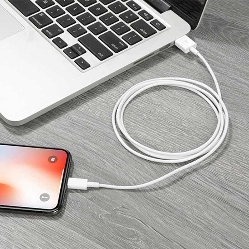 1m oryginalny synchronizacja danych USB kabel do ładowarki dla iPhone 5 5S SE 6 6S 7 8 Plus X XS Max XR szybkie ładowanie telefonu komórkowego USB do telefonu kable