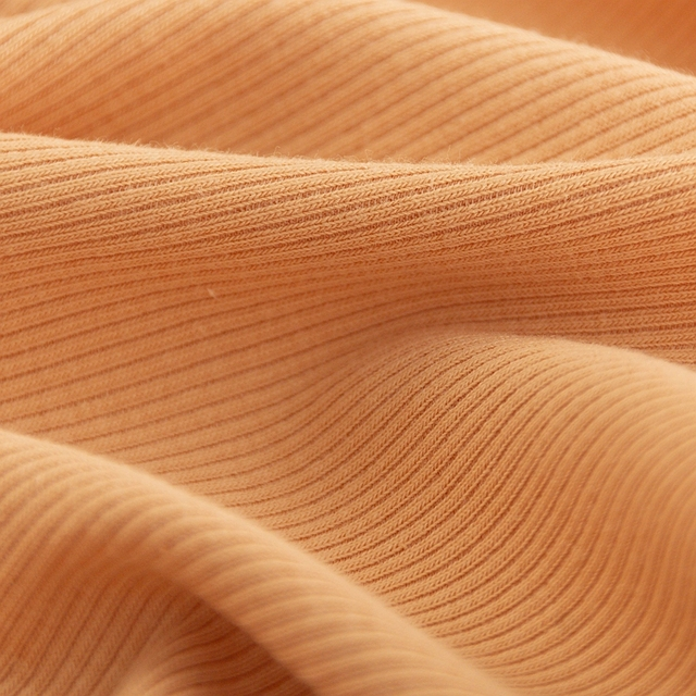 Thin Cotton Spandex Rib Fabric 160 Gsm For Summer T-Shirt And Tops Stretchy Jersey Cuff Fabric 0.25m/0.5m/Piece A0275 4