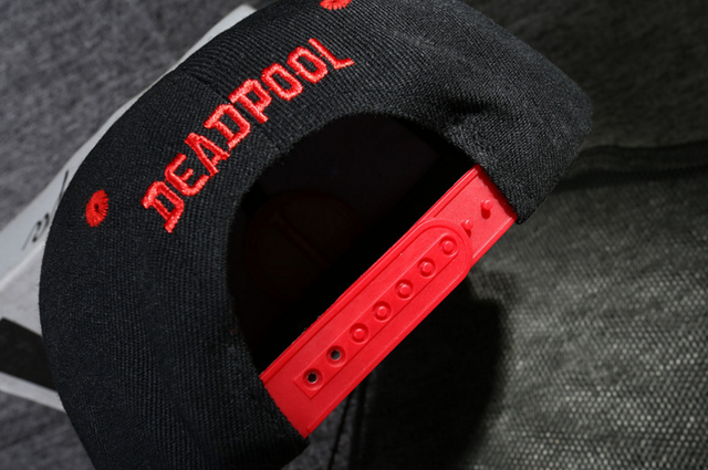 Anime Deadpool Embroidery Snapback 8