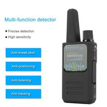 Signal Detector Wireless GPS RF Tracker Anti-Tracking Camera Spy GSM Audio Bug Finder Handheld Security Frequency Scanner new rf wireless signal radio detector audio bug tracer finder 100mhz 2600mhz 1 10m detecting range security