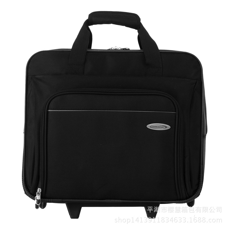 Business Trolley Bag Men And Women with Wheels Travel Bag Business Trip Hand Boarding Bag Waterproof Bag Computer Bag