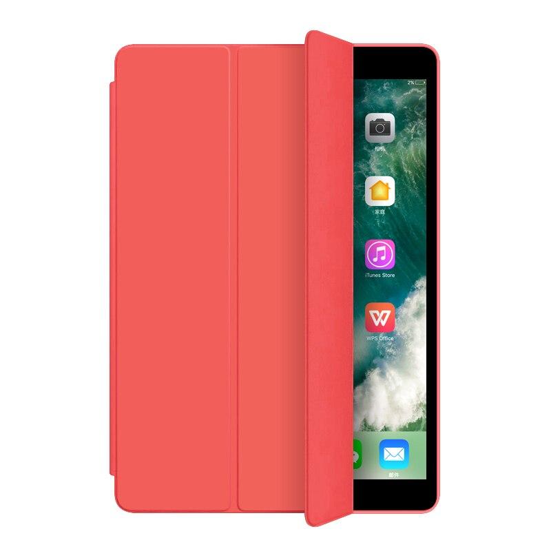 Red White Utrl Slim Trifold Coque for iPad 7th iPad 10 2 Case Smart A2200 A2198 A2233 Auto
