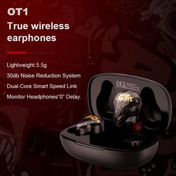беспроводные наушники upgraded OT1 Airdots TWS Bluetooth 5.0 Earphone 3D Stereo Wireless NC bluetooth наушники fone de ouvido 1