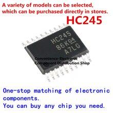 10 шт./упак. HC245 74HC245PW SN74HC245PWR SMD 74HC245PWR TSSOP-14 шестиканальный чип инвертор на чип