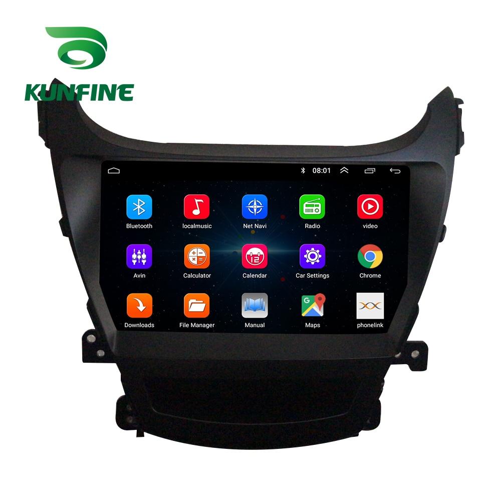 Octa Core Android 8.1 Car DVD GPS Navigation Player Deckless Car Stereo for HYUNDAI ELANTRA 2014 2015 2016 Headunit Radio