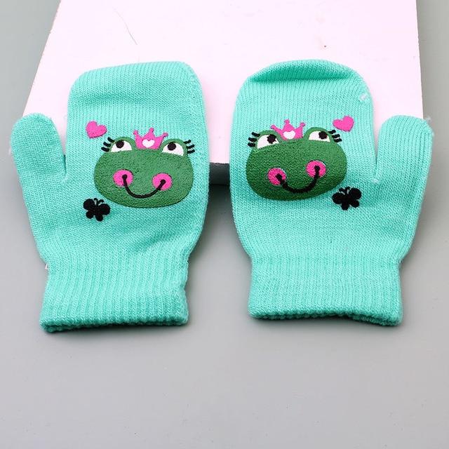 Gimbles/® New Kids Girls Boys Christmas Xmas Polar Bear Santa Christmas Pudding Hat /& Glove Set