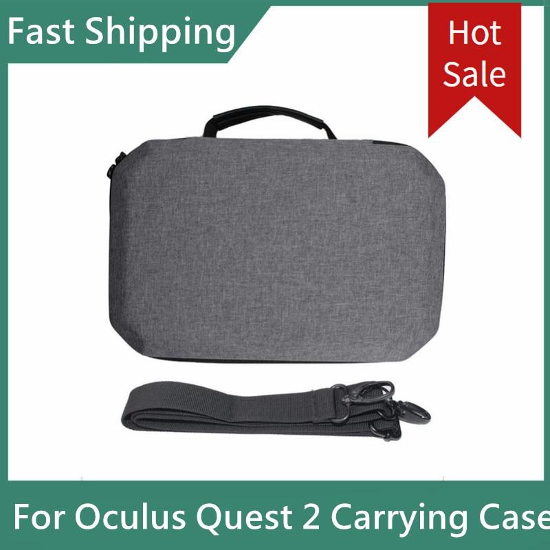 Новый портативный чехол для Oculus Quest 2 VR, жесткий Дорожный Чехол из ЭВА, защитный чехол для гарнитуры, сумка для хранения аксессуаров