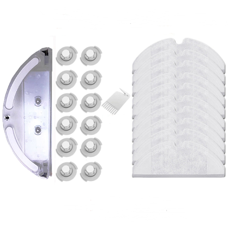 Suitable for Xiaomi Roborock S50 S51 Robot Vacuum Cleaner 2 Spare Parts Kits Mopping Cloth Water Tank Filter Replacements in Vacuum Cleaner Parts from Home Appliances
