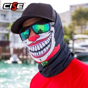 Image 3 - 3D Seamless Clown Joker Deadpool Balaclava Magic Warmer Motorcycle Breathable Mask Neck Gaiter Durag Headband Bandana Scarf