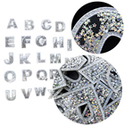 A-Z Letters Silver G...