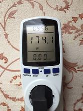 Digital LCD Energy Meter Wattmeter Leistung Strom Kwh Power Meter EU Französisch US UK AU Mess Outlet Power Analyzer(China)