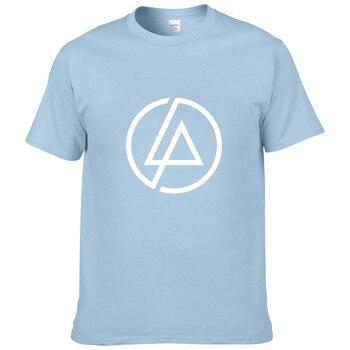 2020 summer trend fashion men's hip-hop T-shirt Lincoln Linkin Park Rock T-shirt cotton Linkin brand clothing blouse T-shirt