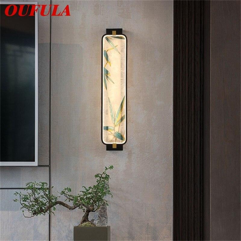 Современные Настенные светильники oufula оригинальные комнатные