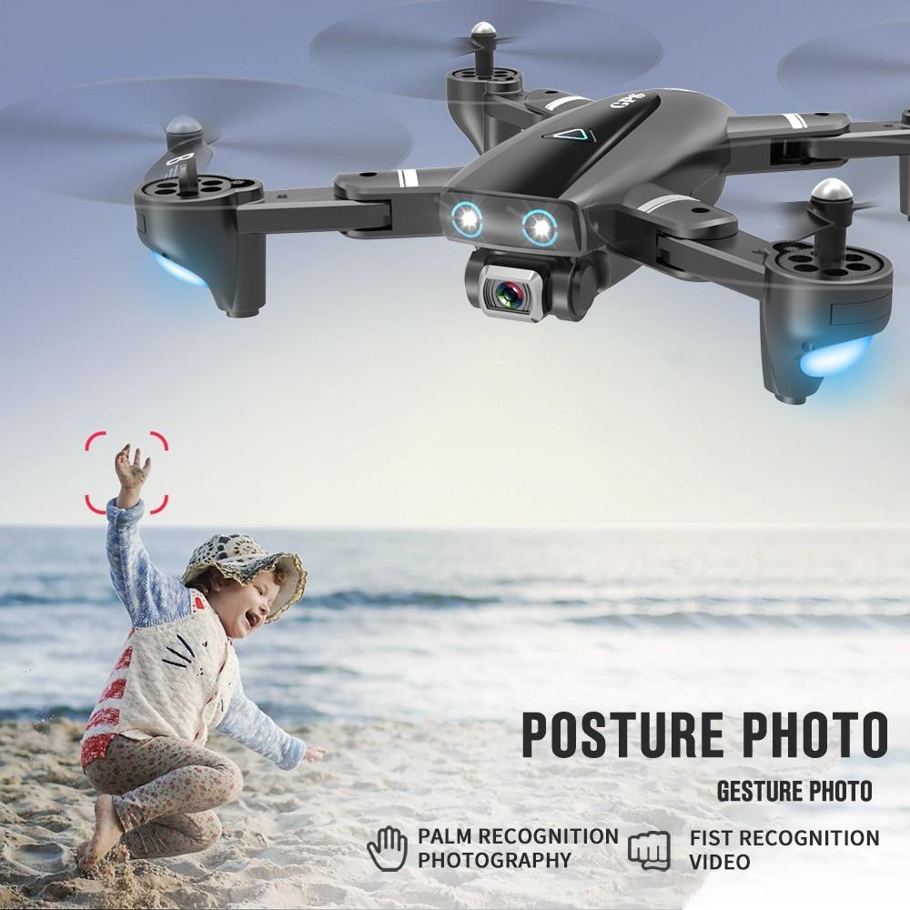 Новый S167 GPS Дрон с камерой 5G Радиоуправляемый квадрокоптер дроны HD 4K WIFI FPV складной бесточечный Летающий Фото Видео Дрон Вертолет игрушка 4