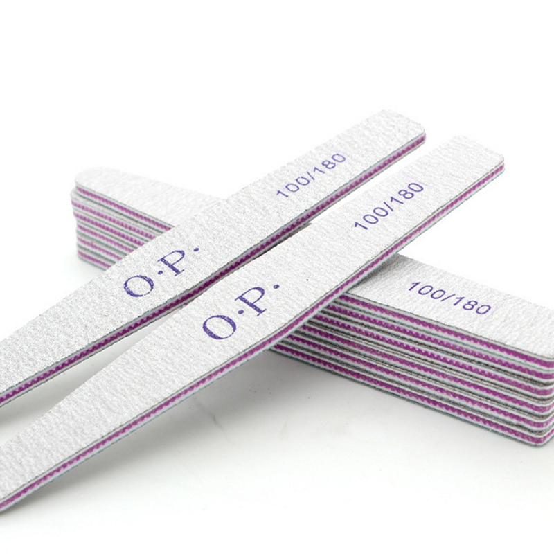 1pc 100/180 Nail Files Block Buffer Pedicure Manicure Gel Polish Nail Polish Files Nail Beauty Tool Professional Nail Files Tool