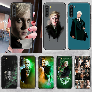Draco Malfoy Phone case For Xiaomi Redmi Note 7 7A 8 8T 9 9A 9S K30 Pro Ultra black fashion back soft waterproof trend hoesjes image