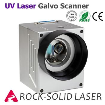 UV Laser Galvo Scanner Head For Marking Machine Scan 355nm Galvanometer with Power Supply Set
