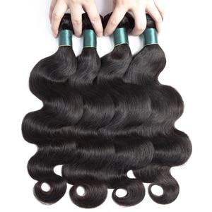 Image 5 - Supreferct Body Wave Brazilian Hair Weave Bundles Human Hair Bundles Remy Hair 1/3/4 Pieces 8 28Inch Natural Color
