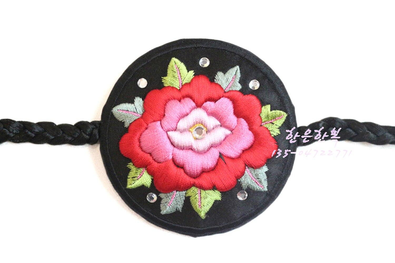 Koreaanse Originele Import Haaraccessoires/Koreaanse Kleding Hand Geborduurde Haarband/Haar Touw Groothandel Prijs - 3