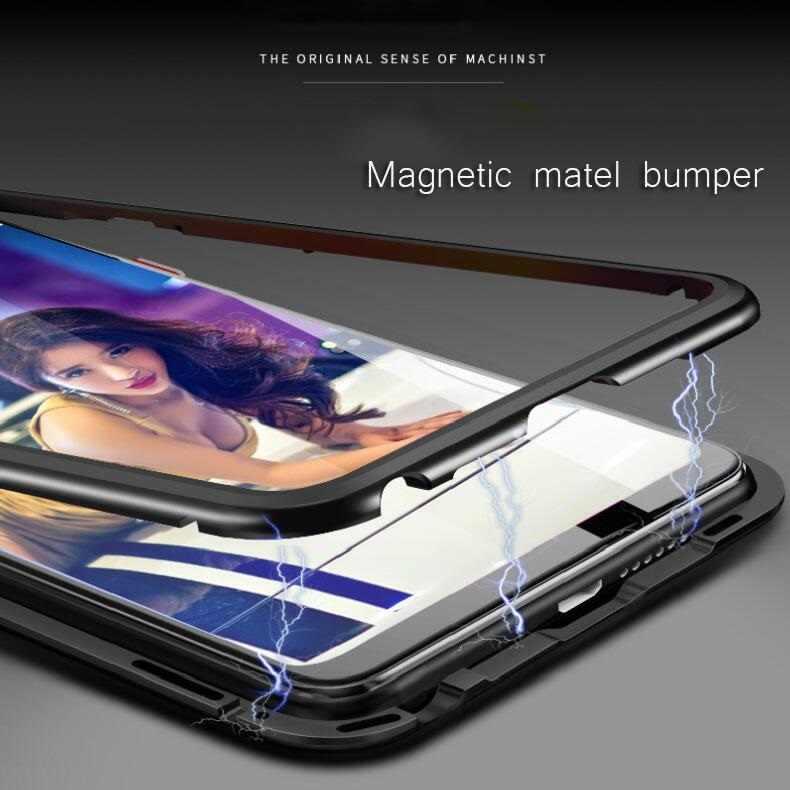 Manyetik samsung kılıfı galaxy S10 e 5G S9 S8 S7 artı not 10 9 8 A80 A70 A50 A40 A30 a20 A10 A8 A7 2018 A6 M30 manyetik kılıf