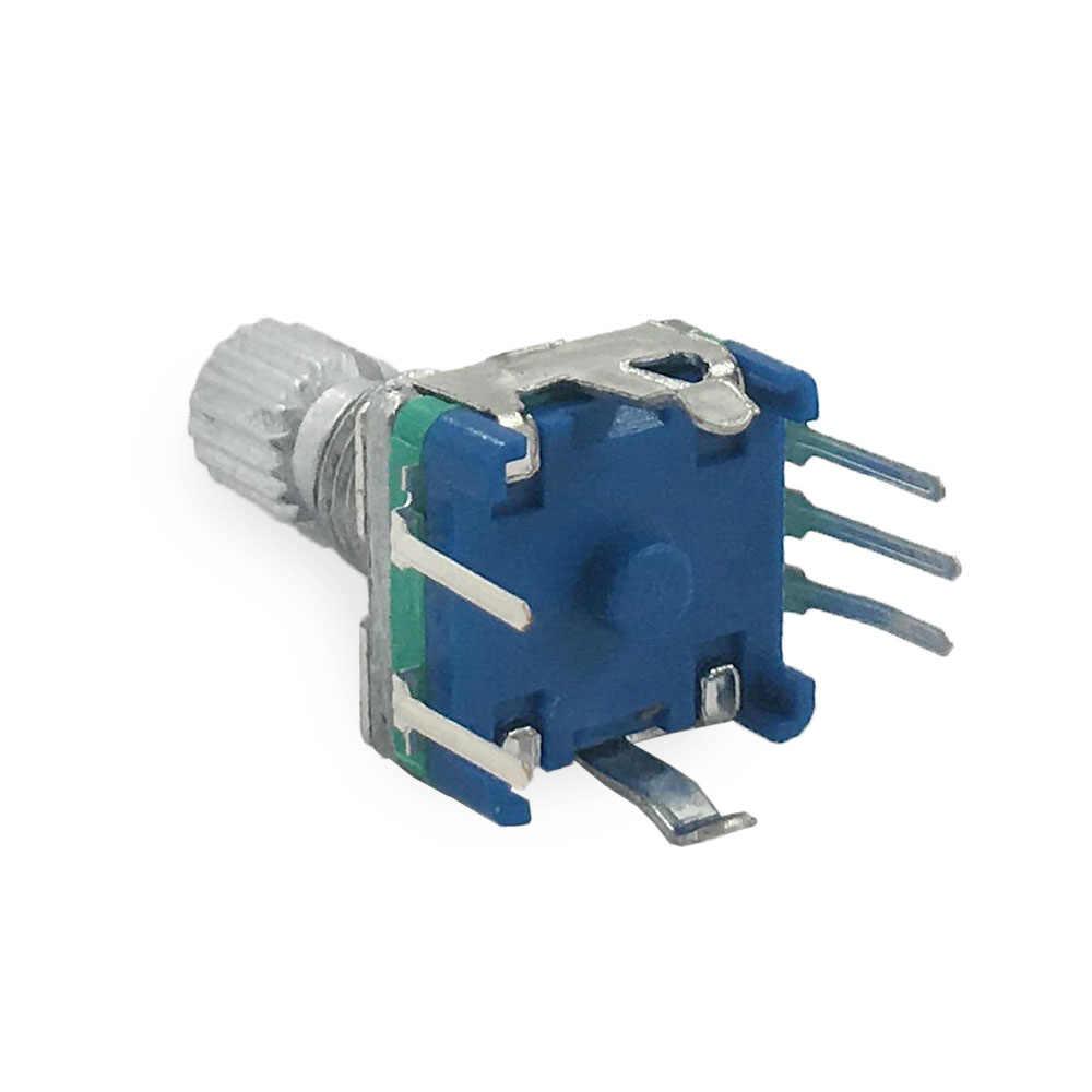 5PCS Rotary Encoder With Switch EC11 Audio Digital Potentiometer Han/_syMAQE