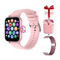 Reloj inteligente Y20 para mujer, Smartwatch completamente con pantalla táctil y rotación, rastreador de Fitness, GTS 2, para Xiaomi, IPhone, PK, P8 Plus, 2021