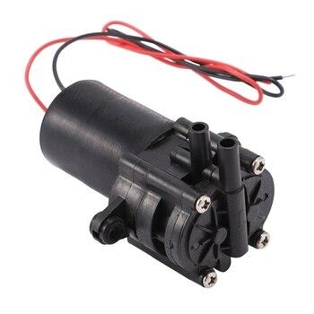 A210 12V Mini pompa wodna z tworzywa sztucznego o wysokiej wydajności samozasysająca przekładnia DC