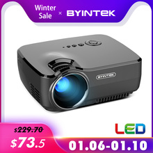 BYINTEK Brand SKY GP70 Portable Mini LED Cinema Vi