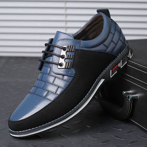 Image 2 - גודל גדול באיכות גבוהה נעליים יומיומיות גברים אופנה עסקי גברים נעליים יומיומיות מכירה לוהטת אביב לנשימה מזדמנים גברים נעליים שחור