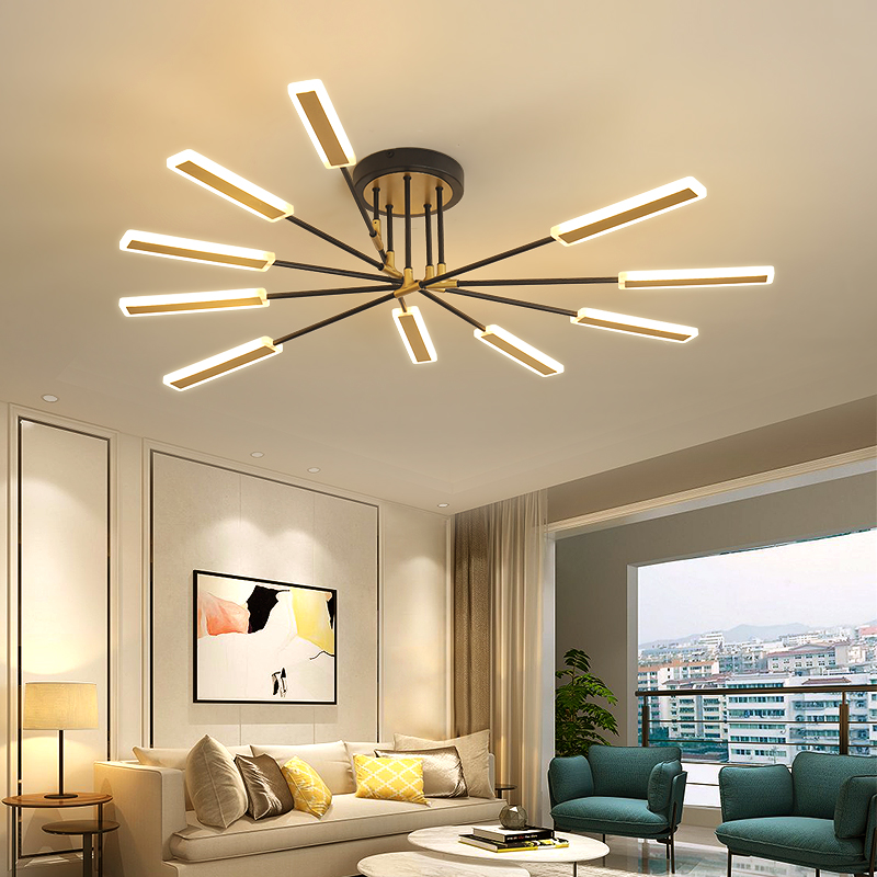 Modern led chandelier lighting living room bedroom dining room ceiling lighting restaurant or kitchen chandelier indoor lighting