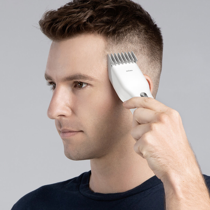 Image 5 - ENCHEN Electric Hair Trimmer Clipper Can Cut Copper Wires USB Fast Charge Ceramic Hair Cutter Men Trimmer Christmas giftsHair Trimmers   -