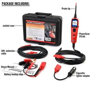 Image 4 - Autel PowerScan PS100 חשמל מערכת 12V/24V אבחון מעגל Tester כלי חשמל בודקי מוביל