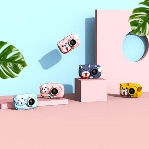 Image 4 - Mini cámara Digital para niños de dibujos animados, cámara de vídeo de 26MP 1080P, cámara de vídeo de 2,4 pulgadas con pantalla IPS, lente de cámara Dual a prueba de golpes para niños