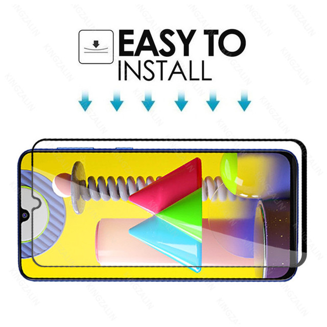 2 in 1 camera lens protective glass for samsung galaxy m31 m30 s m51 m21 m11 m12  screen tempered glass for samsung m30 m31 m21s 6