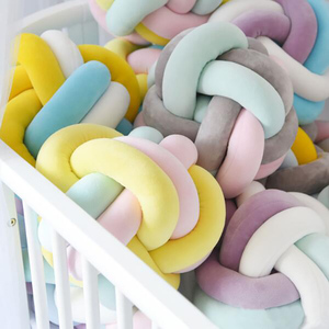 Fashion Newborn Baby Room Cushion Pillow Knot Pillow Cuddle Pillows Accessories Kids Room Washable YBD007